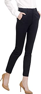 Women's Work Ankle Dress Pants Trousers Slacks