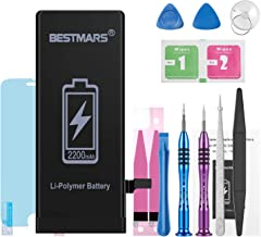 BESTMARS Battery Compatible for iPhone 6, 2200mAh High Capacity 0 Cycle Li-ion..
