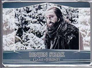2018 Game of Thrones Season 7 Trading Cards Valyrian Steel Metal Expansion #106 Benjen Stark