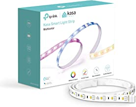 TP-Link Kasa Smart LED Strip Lights Multicolor WiFi Light Strip, Works with Alexa& Google Home, No Hub Required, Million Colors, 10 Preset Advanced Animated lighting effects, 6.6Ft (KL430)