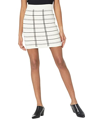 BCBGeneration Jacquard Sweater Skirt T1TX1P25