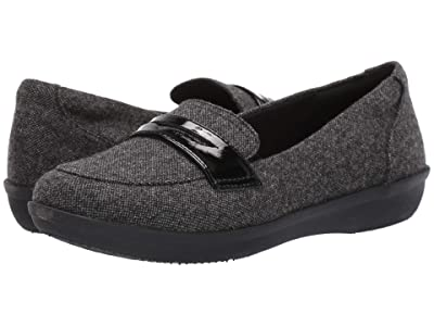 Clarks Ayla Form (Black Tweed Textile) Women