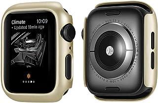ZAALFC Funda Protectora de Marco de PC de Lujo para Apple Watch Series 5 Series 4 Cubierta de Cubierta para iWatch 40mm 44...