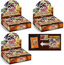 Yu-Gi-Oh! OCG Duel Monsters Trading Cards Lightning Overdrive Booster Box Japanese Ver. (3 Box [ First Limited Edition ])