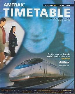 northeast corridor timetable