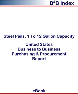 Steel Pails, 1 to 12 Gallon Capacity United States: B2B Purchasing + Procurement Values in the United States