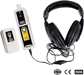 ALLOSUN Ultrasonic Leak Detector & Transmitter Air Water Dust Leak Pressure with Headphone Accessory Kit LED Indication