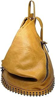 CASIMIRRI 1892 ® Mochila, mujer, bolso tipo mochila, bolso de hombro, de piel sintética, casual, piel, elegante, multifunc...