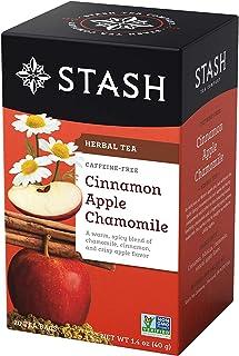 Stash Premium Herbal Tea Cinnamon Apple Chamomile - 20 Tea Bags
