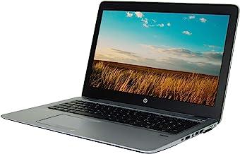 """HP 850 15.6"""" HD, Core i5-5300U 2.3GHz, 8GB RAM, 500GB Solid State Drive, Windows 10 Pro 64Bit, (Renewed)"""