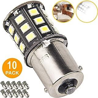 New Generation 1156 1141 1003 33-SMD LED Light bulb Use for RV Indoor Lights, Back Up Reverse Lights, Brake Lights, Tail Lights, Rear Turn Signal Lights (10-Pack, White 6000K-6500K)