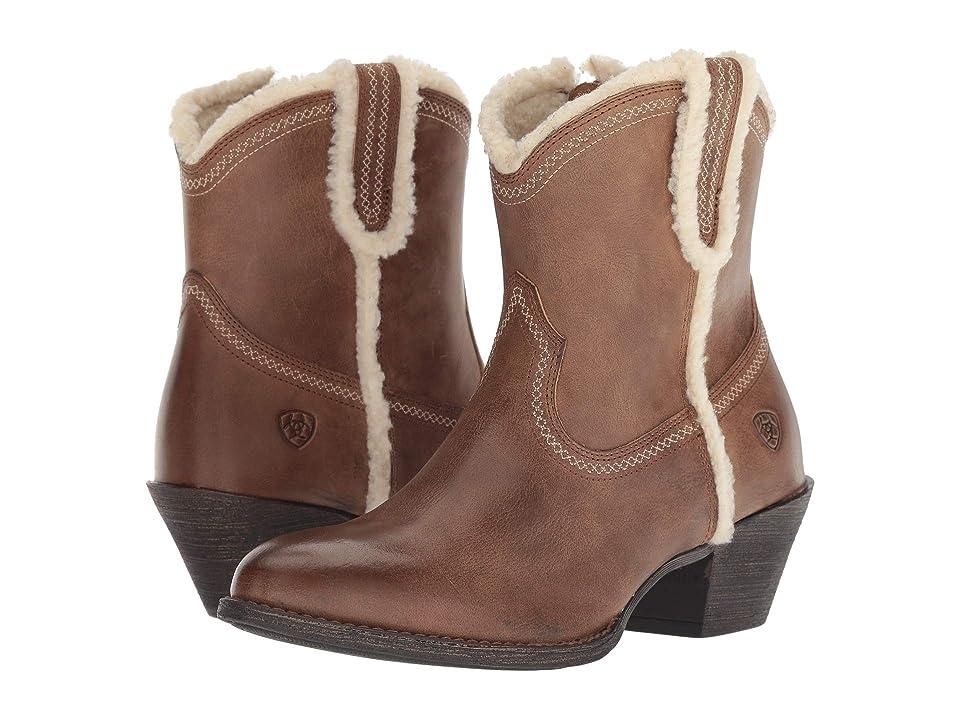 Ariat Darlin Fleece (Sandstorm) Cowboy Boots