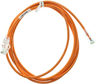 Panduit UTP28SP7BO/N CAT6 Performance Patch-Cable UTP Patch Cord, 7-Feet, Bright Orange (5 Pack)
