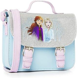 Disney Frozen 2 handväska för flickor, glitter skolväska med Anna och Elsa, frysta tillbehör, barn crossbody mode axelväsk...