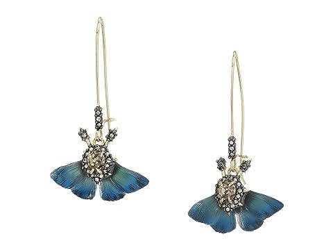 Alexis Bittar Brutalist Butterfly Kidney Wire Earrings