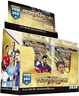 2019 Panini TOP TEAMS FIFA 365 Adrenalyn XL Soccer Cards. BOX. FIFTY (50) 6-Card Packs (300 Cards Total). Loaded With Stars!. Look for Stars Incl. Ronaldo, Messi, Neymar, Kane, Pulisic +++