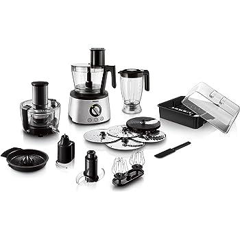 Philips Viva HR7762/90 - Procesador Alimentos, 750 W, 11 Accesorios, 2 Velocidades, Color Negro: Amazon.es: Hogar