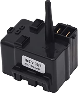 Ultra Durable WR07X10097 Relay and Overload Assembly Replacement Part by Blue Stars - Exact Fit For GE Refrigerators - Replaces 1265640 AP4300623