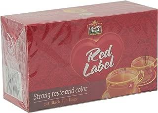 Brooke Bond Red Label Black Tea - 50 bags