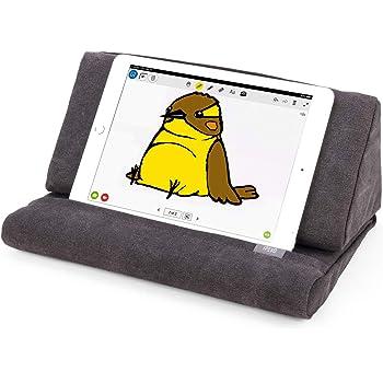Ipevo PadPillow Coussin de Support pour iPad 1/2/3/4/Air/Nexus/Galaxy Gris Charbon
