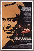 Mass Appeal (1984) Original One Sheet Movie Poster (27x41) Directed by Glenn Jordan and starring Jack Lemmon.