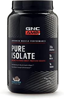 GNC AMP Pure Isolate - Cookies and Cream