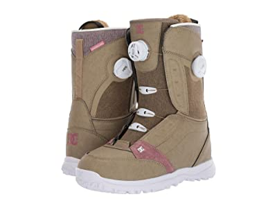 DC Lotus Boa Snowboard Boots (Kelp) Women