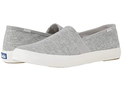 Keds Clipper Jersey (Light Gray Jersey) Women