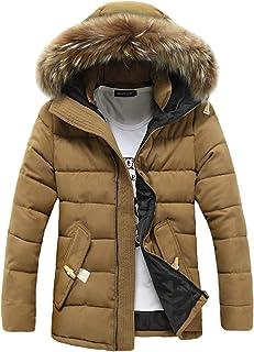Jueshanzj Men's Winter Leisure Thicken Parka Down Coat