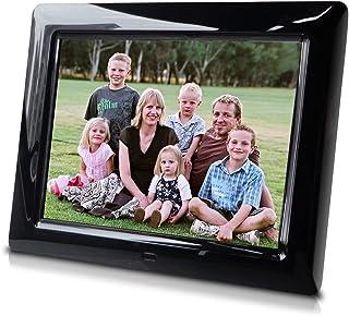 8 Inch Digital Photo Frame, Transitional Effects, Hi-Resolution slideshow, Interval time Adjust - Great Gift