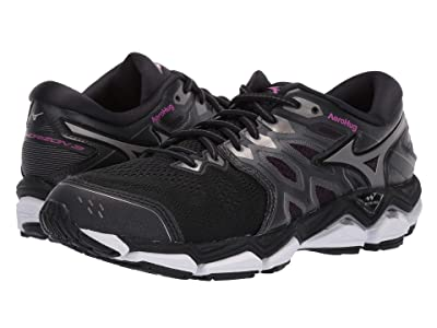 Mizuno Wave Horizon 3 (Black/Metallic Shadow) Women