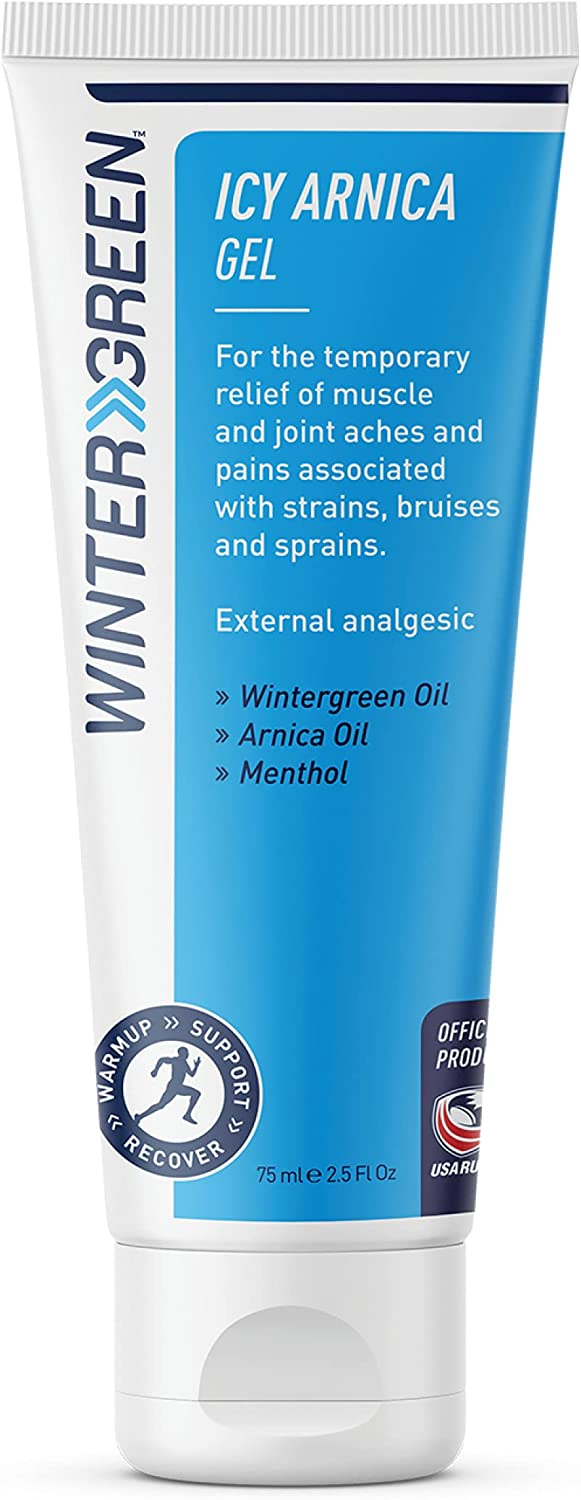 Wintergreen ICY Arnica Gel Los Angeles Mall Therapy Cold 75ml Daily bargain sale