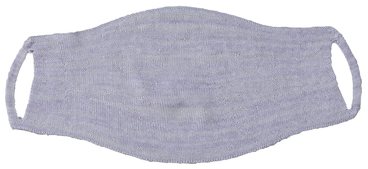 行進文法強風シルク混の 縫い目がない おやすみマスク FP-340