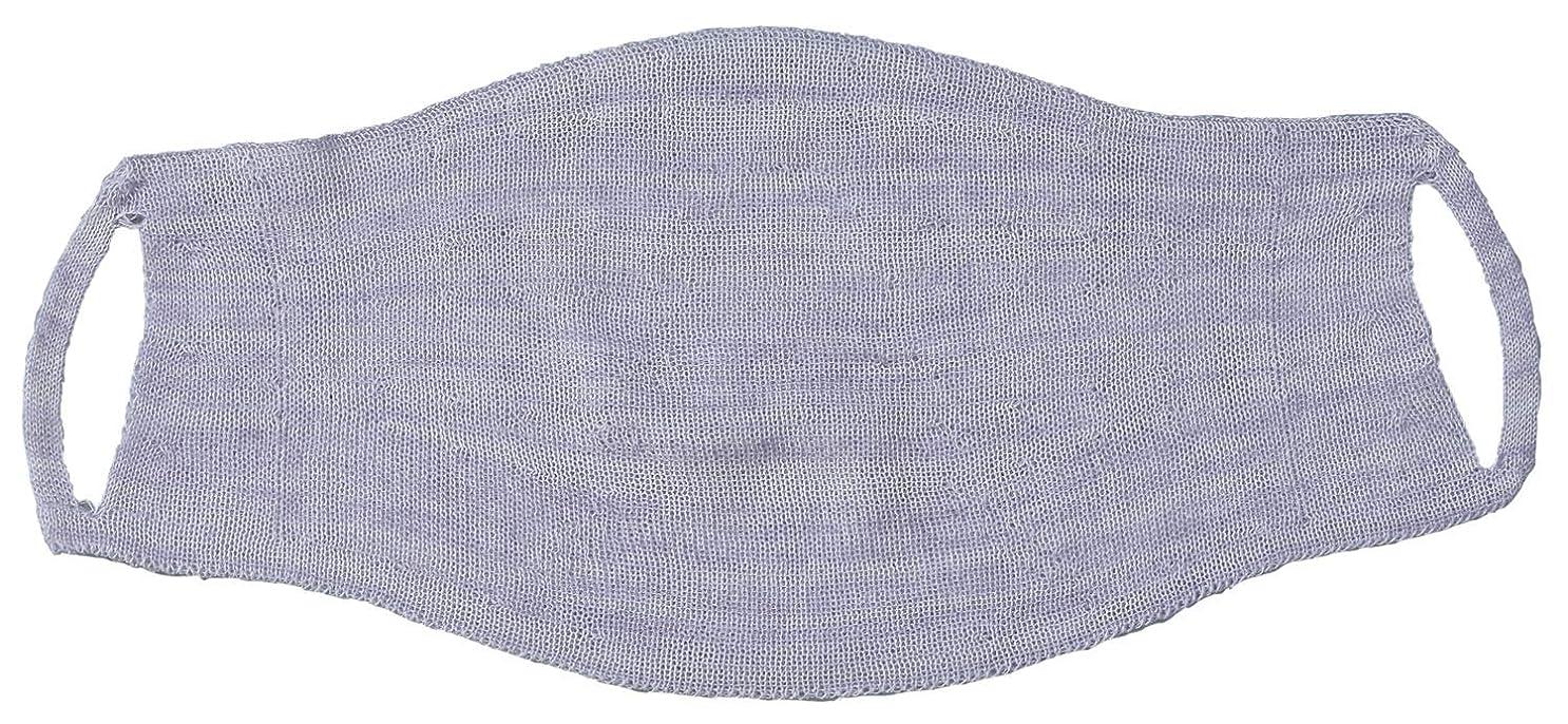 道を作るロビー選出するシルク混の 縫い目がない おやすみマスク FP-340