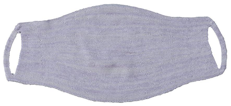 家事社会メロディアスシルク混の 縫い目がない おやすみマスク FP-340