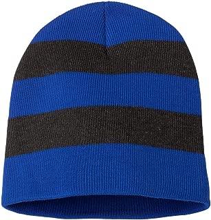 Sportsman SP01 - Rugby Striped Knit Beanie