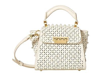 ZAC Zac Posen Eartha Mini Top-Handle Crossbody Color-Block (Swan) Handbags