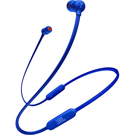 JBL TUNE110BT Bluetooth イヤホン ワイヤレス/マイクリモコン付き/マグネット搭載 ブルー JBLT110BTBLUJN 【国内正規品/メーカー1年保証付き】