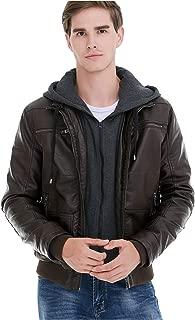 Best bke leather jacket hooded Reviews