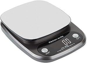 OLRIKE Balance de cuisine numérique 3 kg x 0,1 g, balance de précision, pèse en grammes et oz pour la cuisson, graduation ...