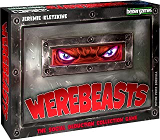 Steve Jackson Games Current Edition Werebeasts Board Game
