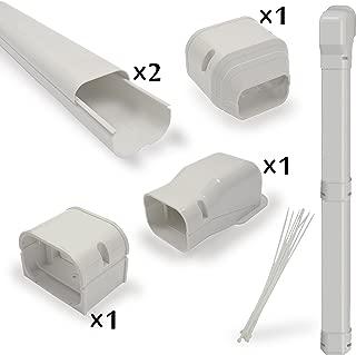 Jeacent 7.5'L AC Line Set Cover Kit 3