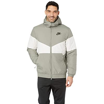 Nike NSW Synthetic Fill Jacket Hoodie (Dark Stucco/Light Bone/Dark Stucco/Black) Men