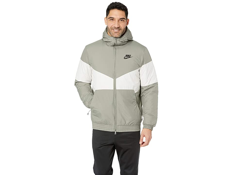Nike NSW Synthetic Fill Jacket Hoodie (Dark Stucco/Light Bone/Dark Stucco/Black) Men