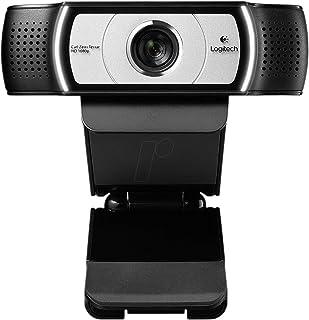 Logitech C930e 1080p HD Desktop or Laptop Webcam - 960-000972, Black and Silver