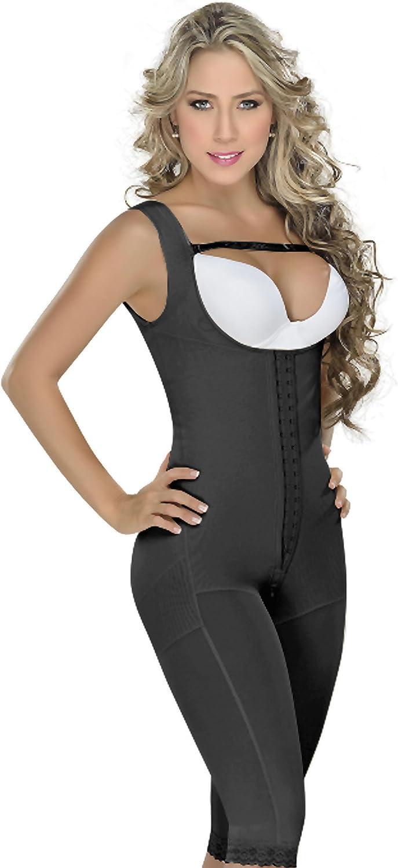M&D 0075 Slimming Firm Full Body Shaper for Women   Fajas Colombianas para women Black