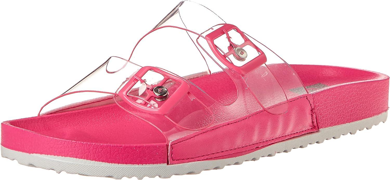 DV Dolce Vita Women's Seethru Slide Sandal
