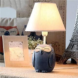 Lampes de Bureau Chambre d'enfants Dessin animé Hibou Lampe de Table LED Chambre Lampe de Chevet créatif garçon Fille Mign...