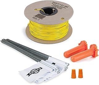 PetSafe - Kit Rallonge Clôture Anti-Fugue pour Chien, Bobine de 150 m de fil jaune de calibre 20 + 50 fanions, Solution an...