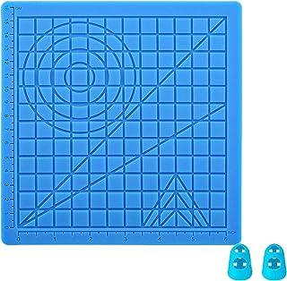 DOLYUU Tapis pour stylo 3D 3D, modèle de stylo d'impression 3D pour débutants, enfants et artistes 3D, avec 2 doigts étable